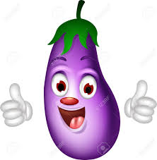 3 714 cartoon eggplant stock vector illustration and royalty free