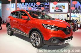 new renault kadjar renault kadjar front three quarter at auto shanghai 2015 indian
