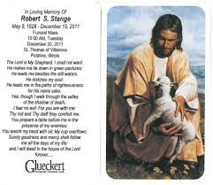 prayer cards for funeral glueckert funeral home