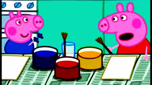 peppa pig painting episodes english compilation stop peppa