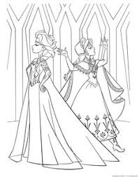 frozen coloring pages 4 free disney printables kids color