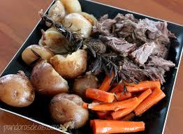 Cold Dinner Easy Slow Cooker Pot Roast Dinner See Mom Click
