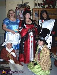 alice wonderland characters costumes
