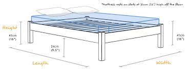 king size wood bed frame dimensions frame decorations