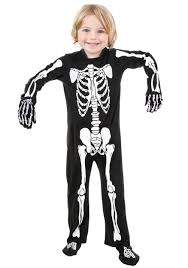 skeleton costumes toddler skeleton costume walmart