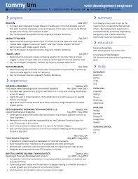 Front End Ui Developer Resume Full Stack Developer Resume Resume For Your Job Application