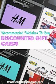 discounted giftcards recommended websites to buy discounted gift cards pin centsible