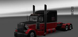 big kenworth trucks peterbilt 389 truck big u0026 little skin american truck simulator