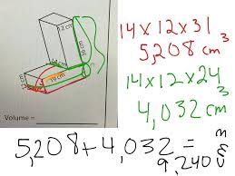 Area Of Compound Shapes Worksheet Showme Go Math Volume Of The Composite Figure 11 11