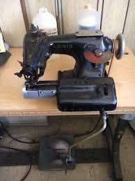 Machine Blind Stitch Vintage Lewis Blind Stitch Hemming Skip Industrial Sewing Machine