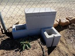 cement or concrete block raised bed gardens arizona raised bed