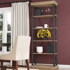 84 Inch Bookcase Darby Home Co Gail 84