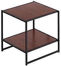 end table black 24 ore international amazon com ore international 7710 traditional side table dark