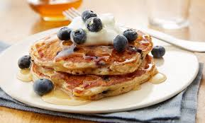 sprouted wheat blueberry pancakes immaculate baking company