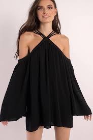 black dress swing dresses black swing dress sleeve swing dress tobi us