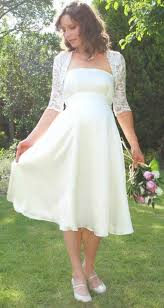 simple country wedding dress with knee lengthcherry marry cherry