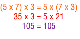associative property of addition and multiplication lessons