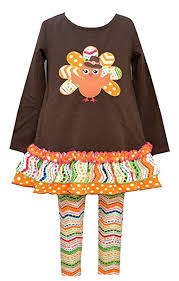 bonnie jean thanksgiving turkey dress