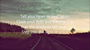 Light In Your Eyes Lyrics Tell Your Heart To Beat Again Lyrics By Danny Gokey Youtube