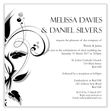 wedding template invitation simple wedding invitation wording template best template collection