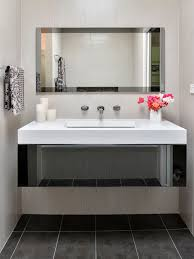 Bathroom With Two Separate Vanities by Bathroom Vanity Mirror Houzz