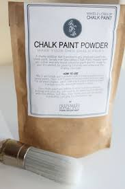 chalk paint powder make your own affordable chalk paint makes