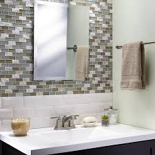 Beveled Subway Tile Shower by American Olean 3 In X 6 In Starting Line Gloss White Beveled Wall