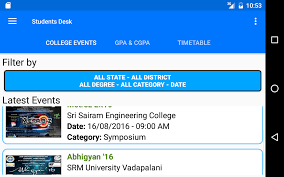 Student Help Desk by Student U0027s Desk College Events Gpa Cgpa Android Apps On