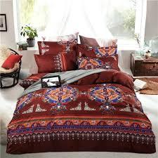 Bohemian Style Comforters Luxury Comforter Bohemian Bedding Set Boho Style Moroccan Bed