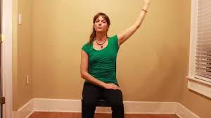Chair Yoga Poses Easy Chair Yoga Exercises Youtube
