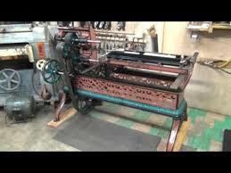 shane u0027s owwm shop tour 2013 layout and machine restorations