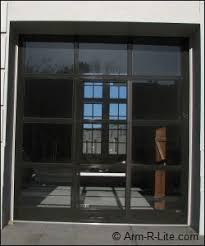 Overhead Roll Up Garage Doors Glass Roll Up Door Installation In California Arm R Lite