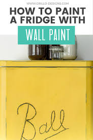 how to remove crayon from painted walls diy painted fridge u2022 grillo designs