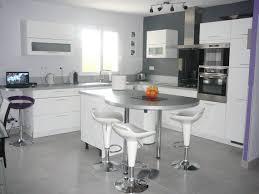 ilot central cuisine lapeyre cuisine lapeyre gris cendré idée de modèle de cuisine
