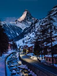 the matterhorn german monte cervino italian or mont cervin