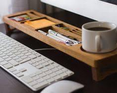Desk Set Organizer Desk Organizer Set Wooden Desk Set Desktop By Lessandmore