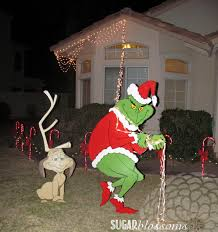Yard Decoration For Christmas by Vibrant How The Grinch Stole Christmas Yard Decorations Marvelous