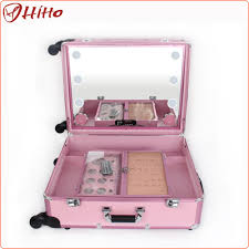 Makeup Lighted Mirror Makeup Case With Lighted Mirror Makeup Case With Lighted Mirror