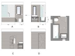 bathroom elevations sample drawing infografías pinterest