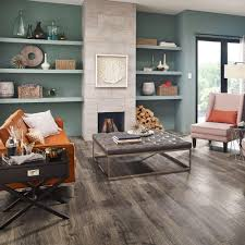 Waterproof Laminate Flooring Home Depot Pergo Outlast Vintage Pewter Oak 10 Mm Thick X 7 1 2 In Wide X