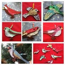 martha stewart crafts ornament kit glitter birds