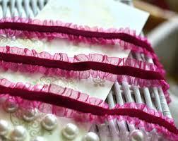ruffled ribbon sale pink ruffles ribbon ruffled grosgrain hot pink narrow