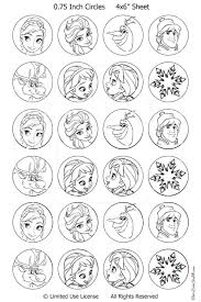 disney frozen christmas decorate the tree coloring diy paper