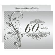 60 wedding anniversary 60th wedding anniversary invitations