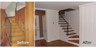 wood paneling painting in lowes best house design painting paneled