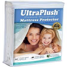 Home Design Waterproof Mattress Pad Amazon Com Ultraplush Waterproof Mattress Protector Quiet Cover