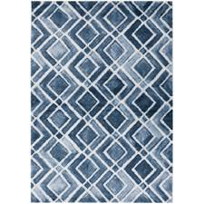 splendid ideas white and blue rug modern white french blue diamond