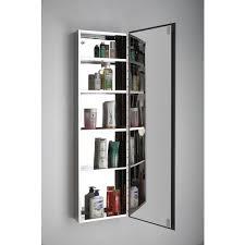Quality Lille Single Door Tall Mirror Bathroom Cabinet - Bathroom cabinet mirrored