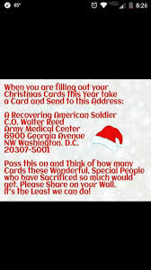 smartness ideas recovering american soldier christmas cards