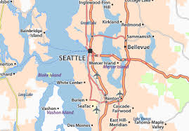seattle map map of south seattle michelin south seattle map viamichelin